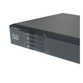 Cisco Ethernet Router 867VAE, Inalámbrico, 5x RJ-45, 1x USB