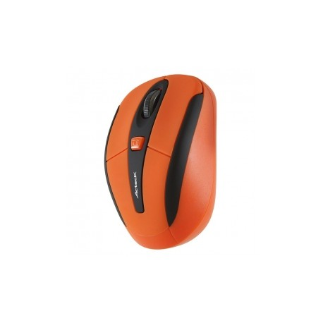 Mini Mouse Acteck Óptico Xplotion 550, Inalámbrico, USB, 1600DPI, Naranja