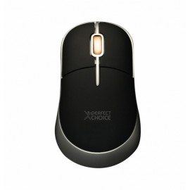 Mouse Perfect Choice Optico PC-043782, 800DPI, USB, Negro