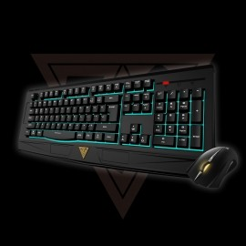 Kit Gamer de Teclado y Mouse Gamdias Ares 7 Color Combo Incluye Ares