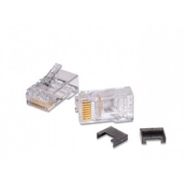 Commscope Conector Cat5e RJ-45, Blanco