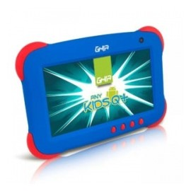 Tablet Ghia ANY Kids Q 7'', 8GB, 1024 x 600 Pixeles, Android 5.1, WLAN, Azul/Rojo