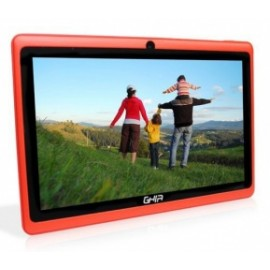Tablet Ghia Any Quattro BT 7'', 8GB, 1024 x 600 Pixeles, Android 5.1, Bluetooth 4.0, Rojo