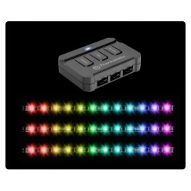 Thermaltake Kit Lumi Color 256C, LED RGB, 3 Tiras, 30cm