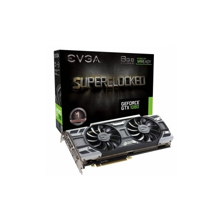 Tarjeta de Video EVGA NVIDIA GeForce GTX 1080 SC GAMING ACX 3.0, 8GB 256-bit GDDR5, PCI Express 3.0