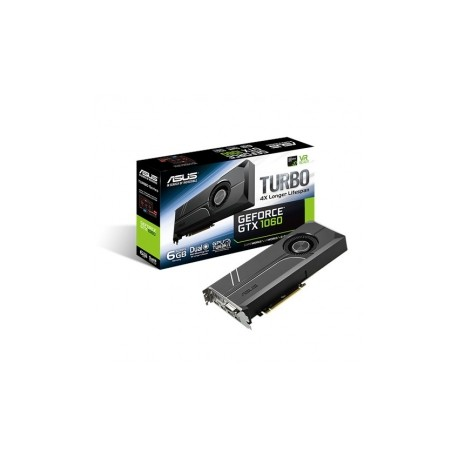 Tarjeta de Video ASUS NVIDIA GeForce GTX 1060 Turbo, 6GB 192-bit GDDR5, PCI Express 3.0