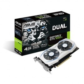 Tarjeta de Video ASUS NVIDIA GeForce GTX 1050 Dual OC, 4GB 128-bit, GDDR5, PCI Express 3.0