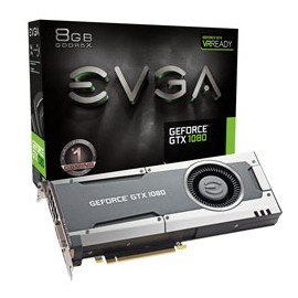 Tarjeta de Video EVGA NVIDIA GeForce GTX 1080, 8GB 256-bit GDDR5X, PCI Express 3.0 x16