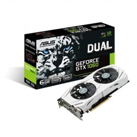 Tarjeta de Video ASUS NVIDIA GeForce GTX 1060 Dual, 6GB 192-bit GDDR5, PCI Express 3.0