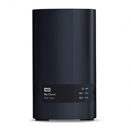 Western Digital My Cloud EX2 Ultra NAS de 2 Bahías Hot Swap, 0TB, max. 16TB, USB 3.0