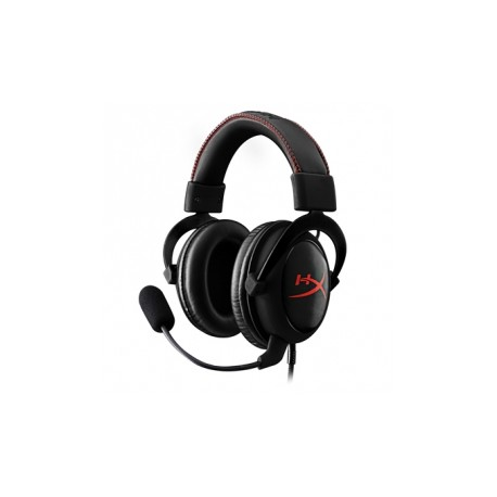 Kingston Audífonos Gamer HyperX Cloud Core, Alámbrico, 1 Metro 2 Metros de Extensión, 3.5mm, Negro