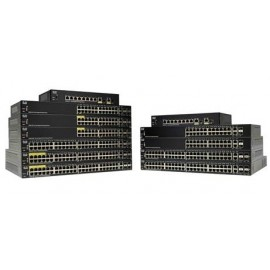 Switch Cisco Gigabit Ethernet SG250-10P-K9-NA, 8 Puertos