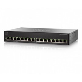 Switch Cisco Gigabit Ethernet SG110-16, 16 Puertos