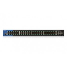 Switch Linksys Gigabit Ethernet LGS552P PoE, 50 Puertos