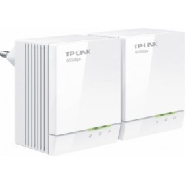 TP-LINK Starter Kit del Adaptador Powerline Gigabit AV600 TL-PA6010KIT, 1x RJ-45, 600 Mbit