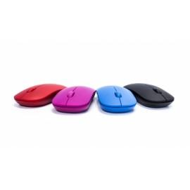 Mouse Vorago Óptico MO-205R, Inalámbrico, USB, 1000DPI, Rojo