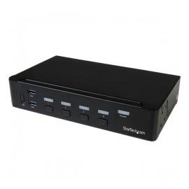 StarTech.com Switch Conmutador KVM de 4 Puertos HDMI 1080p con USB 3.0