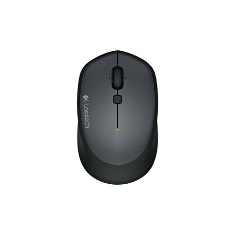 Mouse Logitech Óptico M335, Inalámbrico, USB, Negro