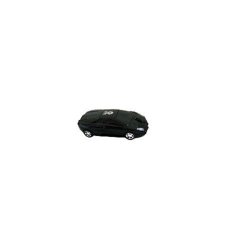Mouse BRobotix Óptico Auto 400007N, 1200DPI, USB, Lamborghini Negro