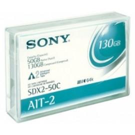 Sony Soporte de Datos AIT 8mm SDX2-50C, 50GB