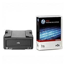 HP Cartucho de Disco Extraible RDX, 1TB - 2TB