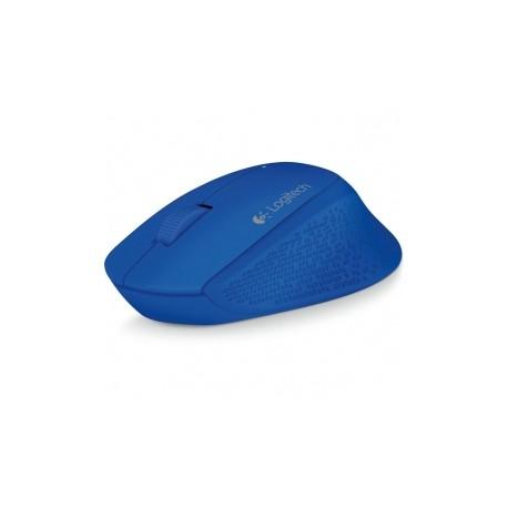 Mouse Logitech Óptico M280, Inalámbrico, 1000DPI, USB, Azul