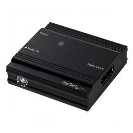 StarTech.com Extensor HDMI 4K-60Hz, hasta 9 Metros, Negro