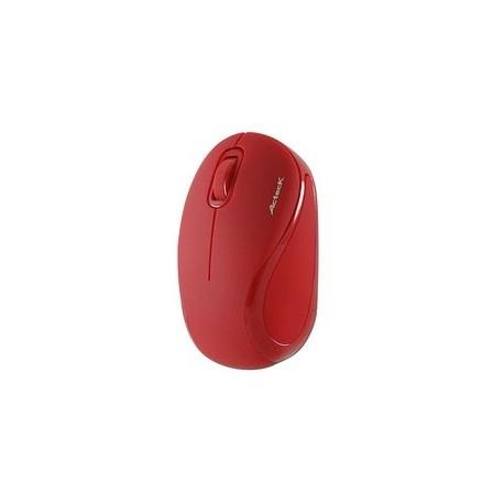 Mini Mouse Acteck Óptico Xplotion 300, Inalámbrico, USB, 1000DPI, Rojo