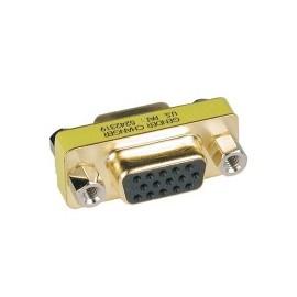 Tripp Lite Adaptador VGA (D-Sub) Hembra - VGA (D-Sub) Hembra, Dorado