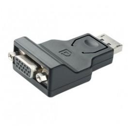 X-Case Adaptador DisplayPort 1.1-Macho - VGA Hembra, Negro