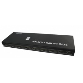 Enson Video Splitter HDMI, de 17 Puertos, Negro