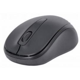 Mouse Manhattan Óptico 178785, Inalámbrico, USB, 1000DPI, Negro