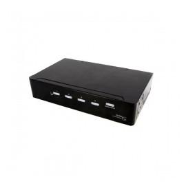 StarTech.com Duplicador Divisor de Video DVI y Audio de 4 Puertos