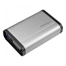 StarTech.com Capturadora de Video DVI, USB 3.0, 1080 Pixeles, Aluminio