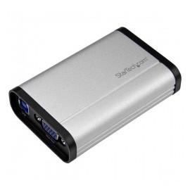 StarTech.com Capturadora de Video VGA, USB 3.0, 1080 Pixeles, Aluminio