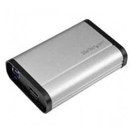 StarTech.com Capturadora de Video HDMI 3.5 mm, USB 3.0, 1080 Pixeles, Aluminio