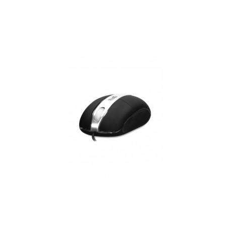 Mouse Klip Xtreme Óptico KMO-102, Alámbrico, USBPS2, 800DPI, Negro