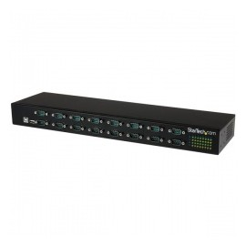 StarTech.com Adaptador USB a Concentrador de 16 Puertos Seriales