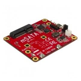 StarTech.com Adaptador Convertidor Micro-USB - mSATA, para Raspberry Pi
