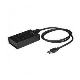 StarTech.com Hub Concentrador USB 3.0 de 4 Puertos, 3x USB-A, 1x USB Tipo C, 5000 Mbits