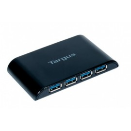Targus Hub USB 3.0, 4 Puertos, Negro - sin Adaptador