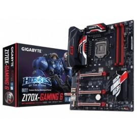 Tarjeta Madre Gigabyte ATX GA-Z170X-GAMING 6, S-1151, Intel Z170, HDMI, USB 2.0/3.0, 64GB DDR4, para Intel