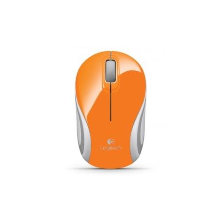 Mini Mouse Logitech Óptico M187, Inalámbrico, 1000DPI