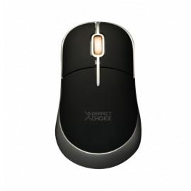 Mouse Perfect Choice Optico PC-043782, 800DPI, USB, Negro