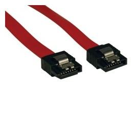 Tripp Lite Cable de Señal SATA 7-pin Macho - 7-pin Macho, 48cm, Rojo