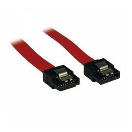 Tripp Lite Cable de Señal SATA 7-pin Macho - 7-pin Macho, 30cm, Rojo