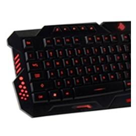 Kit Gamer de Teclado y Mouse Eagle Warrior G79, Alámbrico, USB, Negro