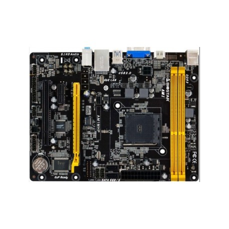 Tarjeta Madre Biostar micro AM1MHP, S-AM1, HDMI, USB 3.0, 16GB DDR3, para AMD
