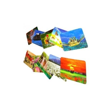 Mousepad Gamer BRobotix Paquete de, 10 Piezas, Diseño Paisajes