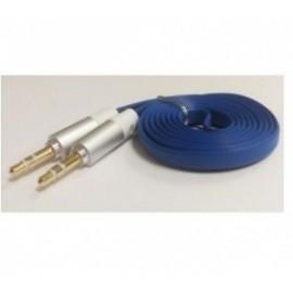 Naceb Cable 3.5mm Macho - 3.5mm Macho, 1 Metro, Azul
